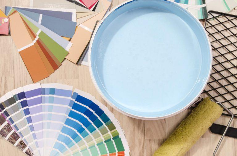 Les différents types de peintures intérieures