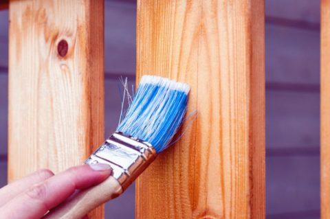 Peindre sur du bois et des lasures