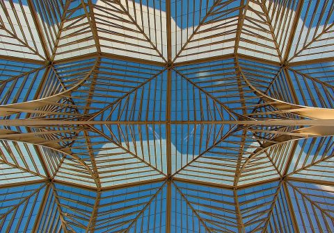 Le plafond métallique